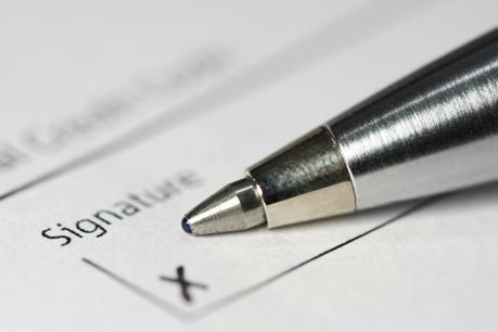 Empfangsbekenntnis bie ZUstelung von Anwalt zu Anwalt