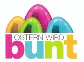 Ostern wird bunt