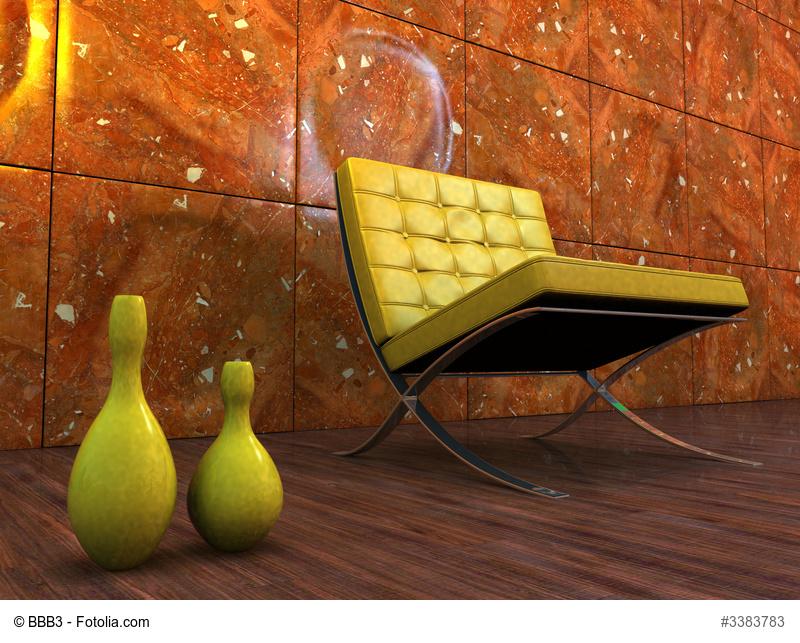 Werbung für Replika von Design Klassikern
