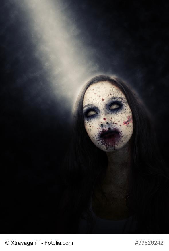 Kunstfreiheit - Politikerin als Zombie