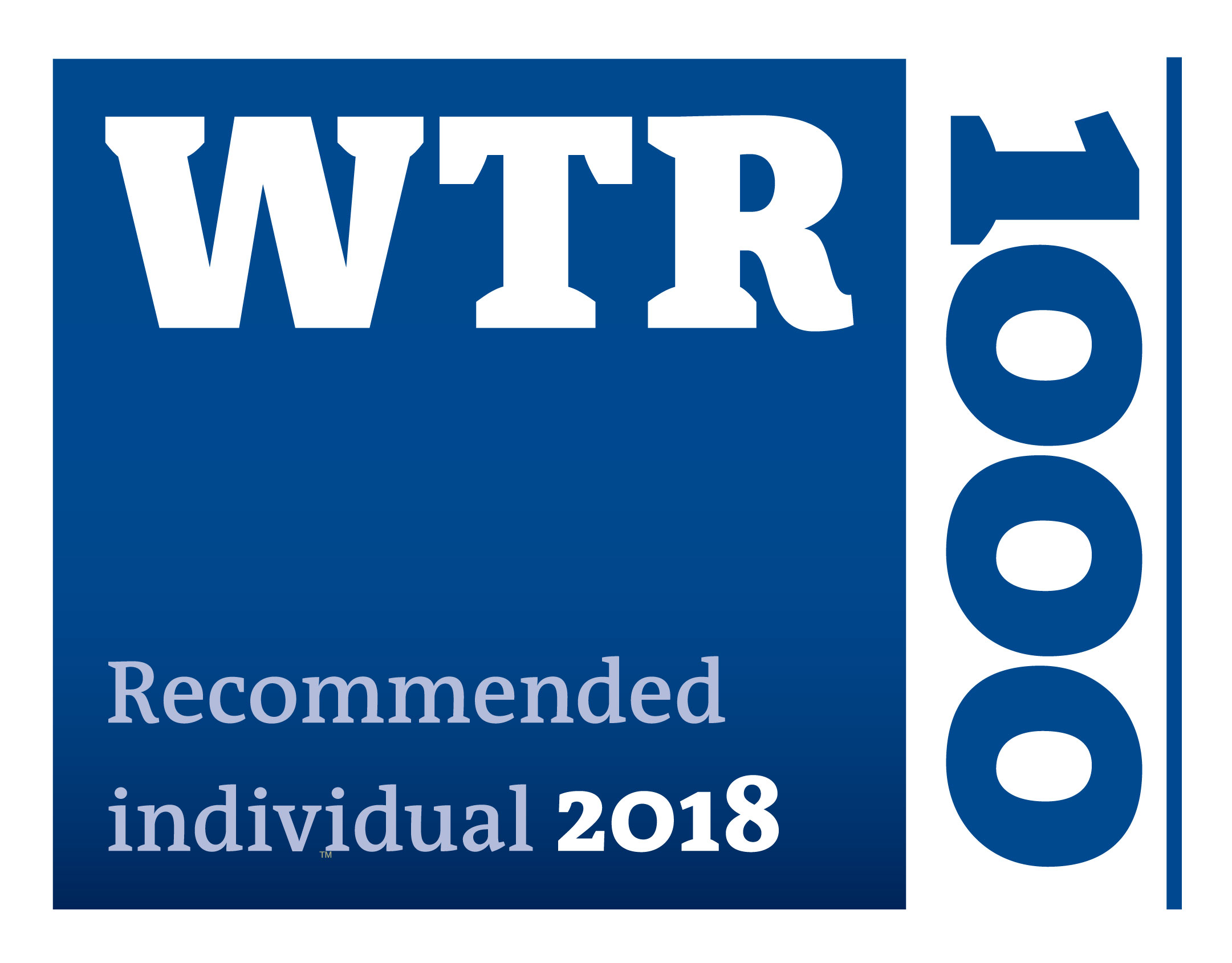WTR 1000 2018 Clemens Pfitzer recommended individual
